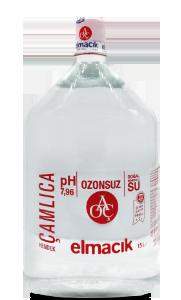 Türkiye'nin Ozonsuz, Saf ve Doğal Suyu Elmacık Su